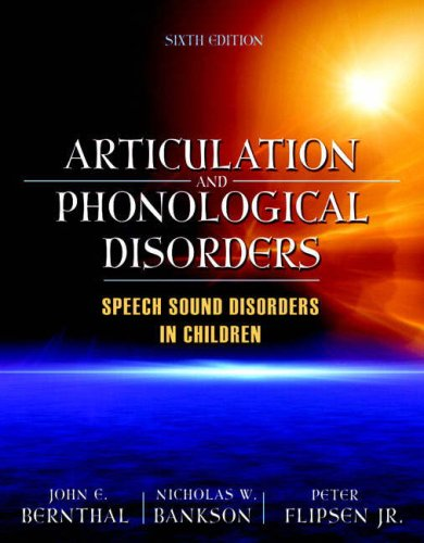 Articulation and Phonological Disorders  6th 2009 edition cover