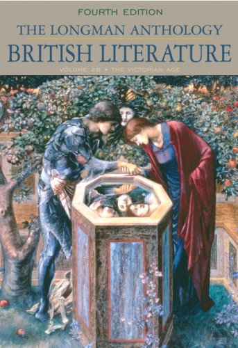 Longman Anthology of British Literature, Volume 2B The Victorian Age 4th 2010 edition cover