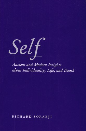 Self Ancient and Modern Insights about Individuality, Life, and Death N/A 9780226768267 Front Cover