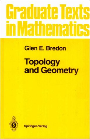 Topology and Geometry   2002 (Revised) edition cover