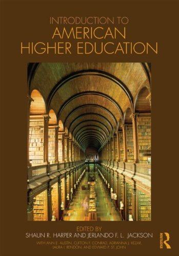 Introduction to American Higher Education   2011 edition cover