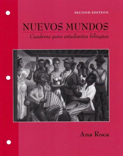 Nuevos Mundos Cuaderno para Estudiantes Biling�es 2nd 2005 (Revised) edition cover