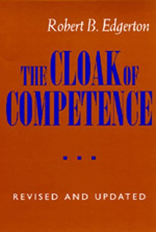 Cloak of Competence  2nd 1993 (Revised) edition cover