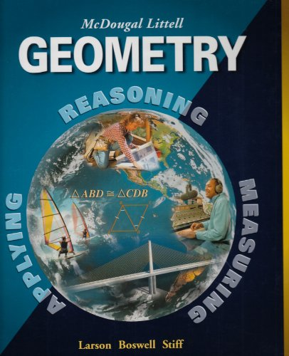 Geometry Teacher's Edition:   2008 9780618077267 Front Cover