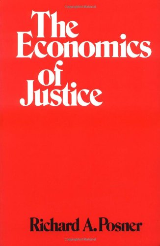 Economics of Justice   1983 edition cover