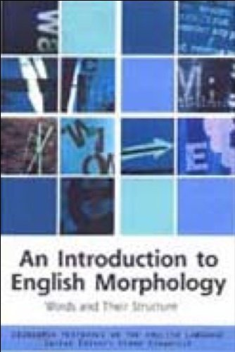 Introduction to English Morphology Words and Their Structure  2001 edition cover