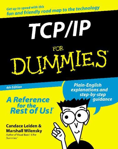 TCP/IP for Dummies  4th 2000 9780764507267 Front Cover