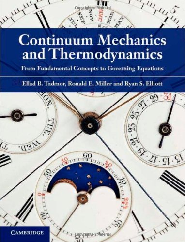 Continuum Mechanics and Thermodynamics From Fundamental Concepts to Governing Equations  2011 edition cover