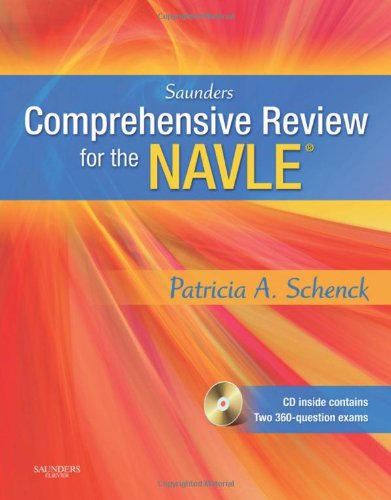 Saunders Comprehensive Review for the NAVLE�   2009 edition cover