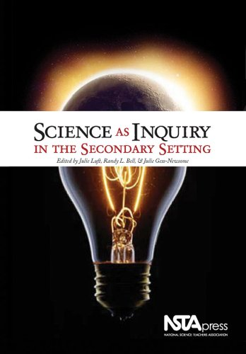 Science As Inquiry in the Secondary Setting   2008 edition cover