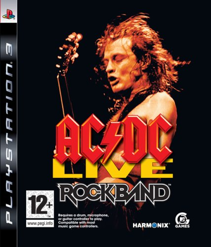 AC/DC Live: Rockband (PS3) by Electronic Arts PlayStation 3 artwork
