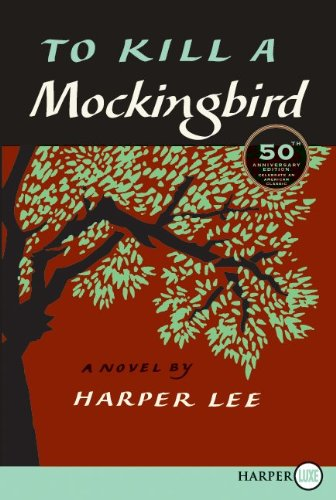 To Kill a Mockingbird  50th (Large Type) edition cover