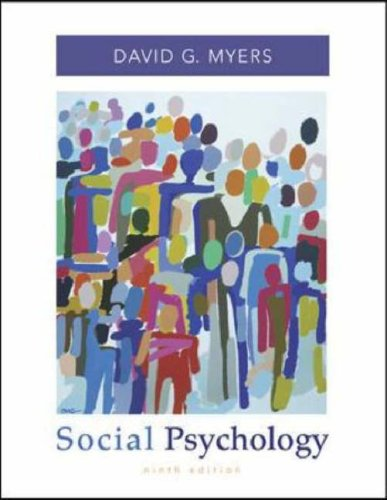Social Psychology  9th 2008 (Revised) edition cover