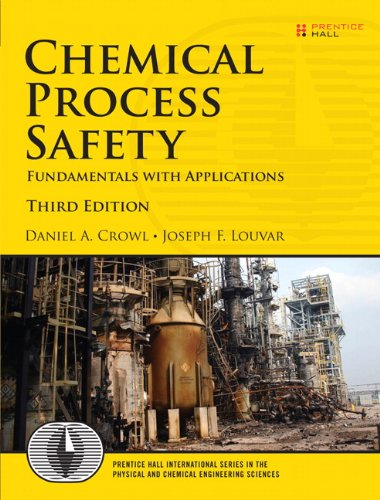Chemical Process Safety Fundamentals with Applications 3rd 2011 (Revised) edition cover