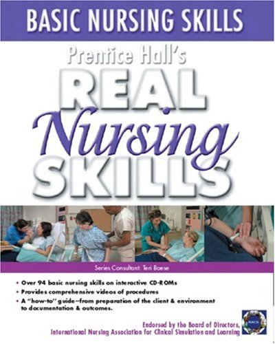 Basic Nursing Skills   2005 9780131915268 Front Cover