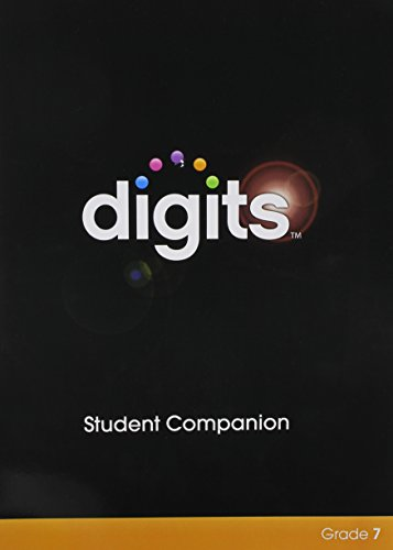 Digits Enhanced Student Companion Grade 7   2014 9780133276268 Front Cover