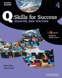 Q - Skills for Success Reading and Writing, Level 4:  2nd 2015 edition cover