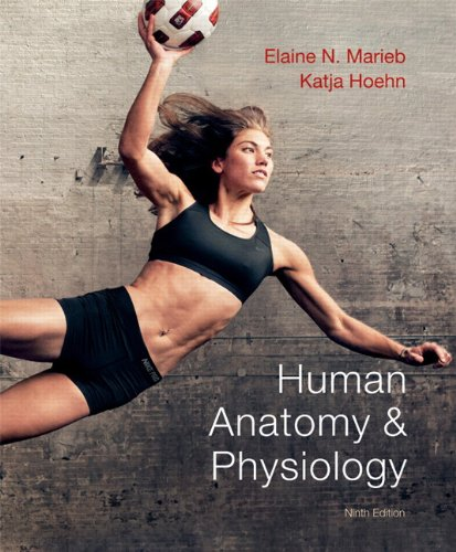 Human Anatomy and Physiology  9th 2013 (Revised) edition cover