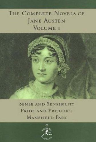 Complete Novels of Jane Austen Sense and Sensibility - Pride and Prejudice; Mansfield Park N/A edition cover