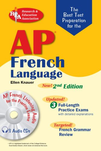 AP French Language Exam  2nd (Revised) 9780738604268 Front Cover