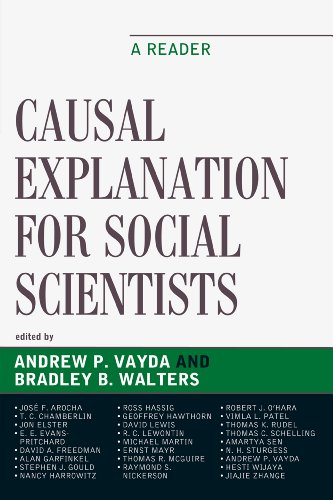 Causal Explanation for Social Scientists A Reader  2010 9780759113268 Front Cover
