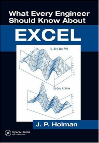 What Every Engineer Should Know about Excel   2006 9780849373268 Front Cover