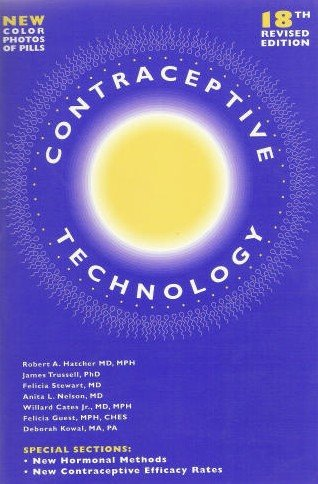 Contraceptive Technology 18th 2004 (Revised) edition cover