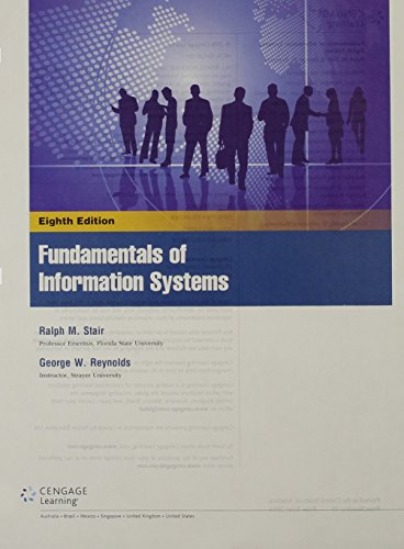 Fundamentals of Information Systems:   2015 edition cover
