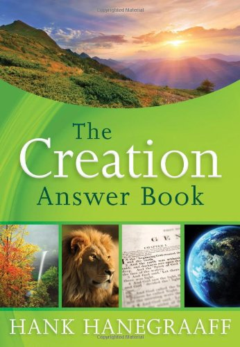 Creation Answer Book   2012 9781400319268 Front Cover