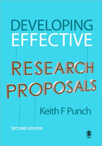 Developing Effective Research Proposals  2nd 2007 (Revised) edition cover