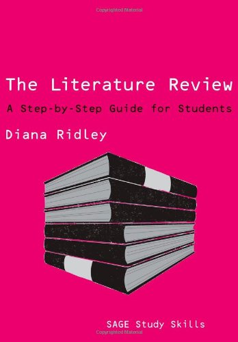 Literature Review A Step-by-Step Guide for Students  2008 edition cover