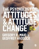 Psychology of Attitudes and Attitude Change  2nd 2015 edition cover