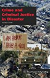 Crime and Criminal Justice in Disaster  2nd 2012 edition cover