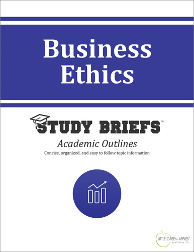 Business Ethics   2015 9781634260268 Front Cover