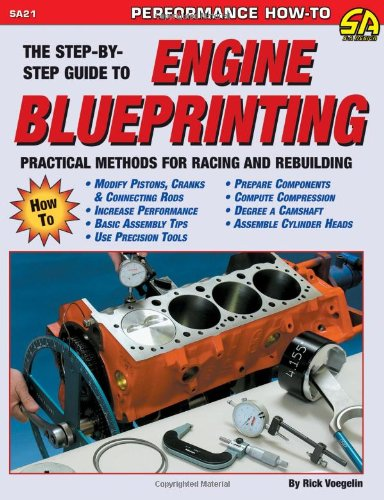 Engine Blueprinting Practical Methods for Racing and Rebuilding  1997 (Revised) edition cover
