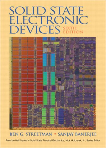 Solid State Electronic Devices  6th 2006 (Revised) edition cover