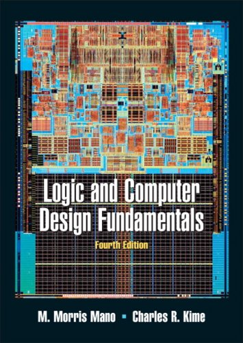 Logic and Computer Design Fundamentals  4th 2008 edition cover