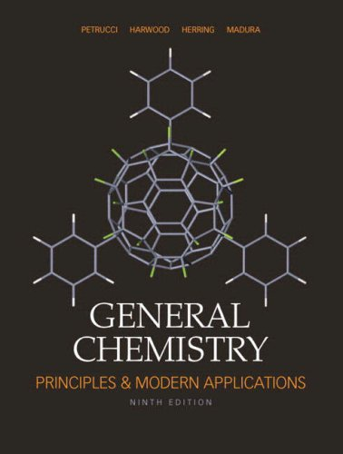 General Chemistry Principles and Modern Applications 9th 2007 edition cover
