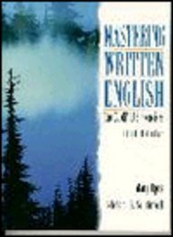 Mastering Written English The Comp-Lab Exercises 5th 1997 9780132445269 Front Cover