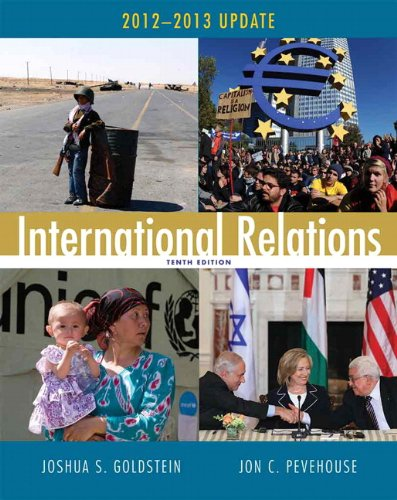 International Relations 2012-2013  10th 2013 (Revised) edition cover