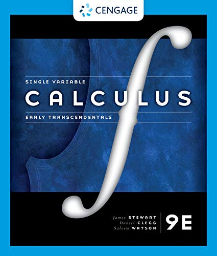 Single Variable Calculus: Early Transcendentals  2020 9780357022269 Front Cover