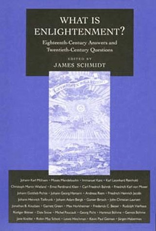 What Is Enlightenment? Eighteenth-Century Answers and Twentieth-Century Questions  1996 edition cover
