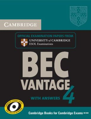 Cambridge English Business Certificate. Vantage 4 Student's Book with Answers   2009 9780521739269 Front Cover