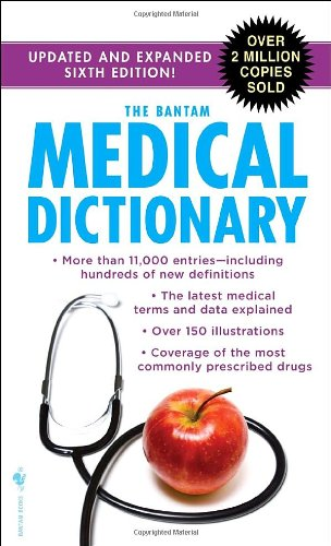 Bantam Medical Dictionary  6th 2009 (Revised) 9780553592269 Front Cover