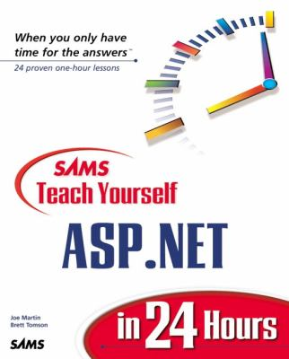 Sams Teach Yourself ASP. Net in 24 Hours   2002 9780672321269 Front Cover