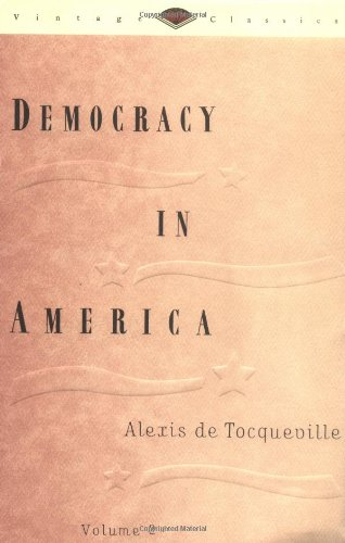 Democracy in America  N/A 9780679728269 Front Cover