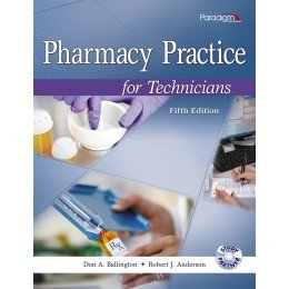 PHARMACY PRACTICE FOR TECHNICI N/A edition cover
