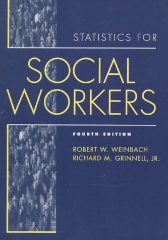 Statistics for Social Workers  4th 1998 edition cover