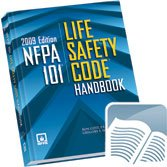 Nfa 101 Life Safety Code Handbook N/A edition cover