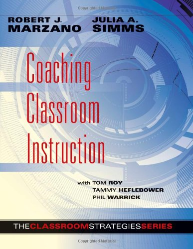 Coaching Classroom Instruction   2013 edition cover